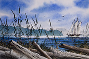 Tall Ship Painting Prints - Sailors Dream Print by James Williamson