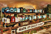 Sausalito Metal Prints - Sailors Mailbox Metal Print by Michael Cleere