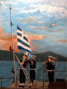 Kostas Koutsoukanidis - Sailors raising the flag