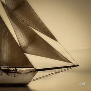 Schooners Art - Sails by Michael Petrizzo