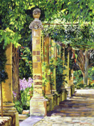Sights Art - Saint-Andre Abbey France by David Lloyd Glover