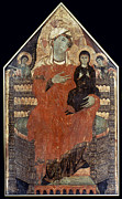 Ann Painting Prints - Saint Anne Enthroned Print by Granger