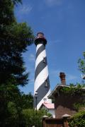 The White Stripes Photos - Saint Augustine Lighhouse by Susanne Van Hulst