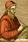 Ages Prints - Saint Bede The Venerable Print by Science Source