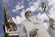 Charlotte Nc Photography Posters - Saint Benedict at Belmont Abbey College Poster by Patrick Schneider
