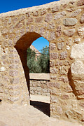 Sinai Monastery Framed Prints - Saint Catherines Monastery Framed Print by Eva Kaufman