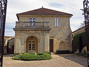 Merlot Photos - Saint-Emilion chateau by Rod Jones