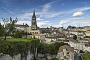 Bordeaux Framed Prints - Saint Emilion D0759 Framed Print by Wes and Dotty Weber