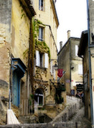 Sauvignon Posters - Saint-Emilion Poster by Rod Jones