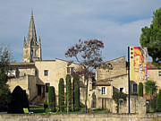 Winemaking Framed Prints - Saint-Emilion village Framed Print by Rod Jones