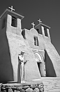 Mancave Photos Posters - Saint Francisco de Asis Mission Poster by Melany Sarafis