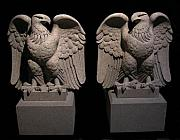 Granite Sculptures - Saint Gaudens Eagles by Jerry Williams