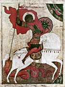 Russian Icon Photos - Saint George by Granger