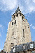 Pres Photos - Saint Germain des Pres bell tower by Fabrizio Ruggeri