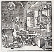Translate Posters - Saint Jerome, 16th-century Bible Poster by King