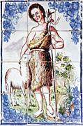 Saint John Print by Gaspar Avila
