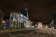 Church Of Scotland Posters - Saint Johns at Night Poster by Jeff Stein