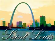 Mississippi River Originals - Saint Louis by John Lautermilch