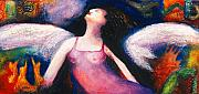 Impressionistic Art - Saint Marcela by Claudia Fuenzalida Johns