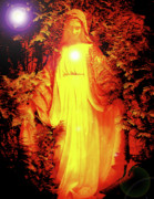 Marian Apparition Posters - Saint Mary No. 01 Poster by Ramon Labusch