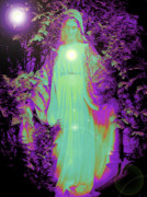 Madre Di Dio Posters - Saint Mary No. 02 Poster by Ramon Labusch