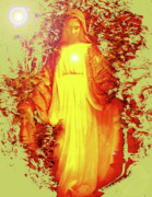 Madre Di Dio Posters - Saint Mary No. 03 Poster by Ramon Labusch