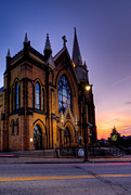 Pittsburgh Art - Saint Mary of the Mount by David Hahn