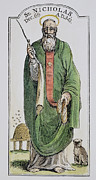 4th Prints - SAINT NICHOLAS (4th CENTURY) Print by Granger