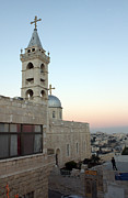 Saint Nicholas Prints - Saint Nicholas Church Beit Jala Print by Munir Alawi