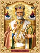 Saint Nicholas Prints - Saint Nicholas Print by Stoyanka Ivanova