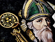 St. Patrick Paintings - Saint Patrick by Leeann Stumpf