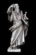 Black Background Art - Saint Paul by Fabrizio Troiani