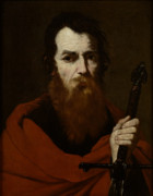 Saint  Paintings - Saint Paul  by Jusepe de Ribera