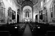 Nave Prints - Saint Peter church Print by Gaspar Avila