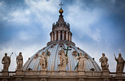 Typical Framed Prints - Saint Peters Roof Framed Print by Inge Johnsson