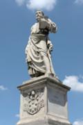 Saint Peter's Statue Print by Fabrizio Ruggeri
