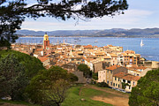 South Of France Framed Prints - Saint Tropez 1 Framed Print by John James