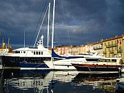 Saint-tropez Framed Prints - Saint Tropez Framed Print by Cris Motta
