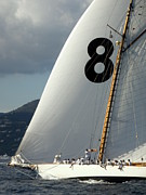 St.tropez Photo Prints - Saint-Tropez Regatta 8 Print by Lainie Wrightson