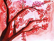 Sakura Paintings - Sakura - Le Floraison by Bisai Ya