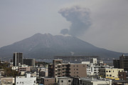 Japan Town Photos - Sakurajima Volcano As Viewed by Richard Roscoe