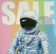 Astronaut Tapestries Textiles - Sale by Scott Listfield