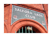 Lads Prints - Salford Lads Club Print by Colin Shorrock