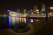 Media Exposure Framed Prints - Salford Quays Media City Framed Print by Wayne Molyneux
