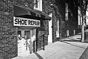 Shoe Repair Posters - Salisbury Shoe Repair Poster by Patrick M Lynch