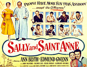 Blyth Posters - Sally And Saint Anne, Left Corner, Ann Poster by Everett
