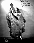 Burlesque Painting Metal Prints - Sally Rand (1904-1979) Metal Print by Granger