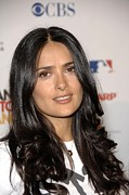 Kodak Theatre Framed Prints - Salma Hayek At Arrivals For Stand Up To Framed Print by Everett