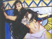 Baptist Painting Originals - Salome by Pat Taylor