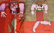 Salon Surrealia Print by Dean Gleisberg